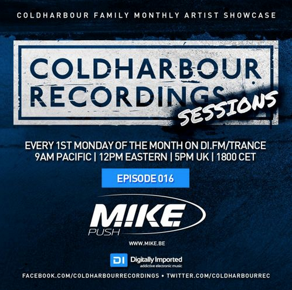 Coldharbour Sessions with MIKE Push